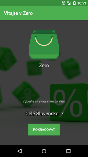 Zero - Zľavy vo Vašom meste