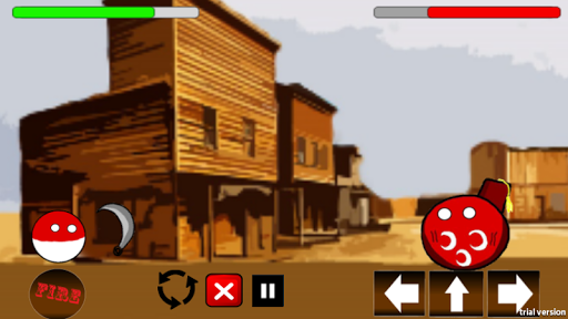 Polandball in the Wild West