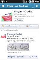 Screenshot of Crochet Paso a Paso