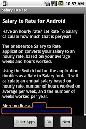 Salary To Rate - Regular
