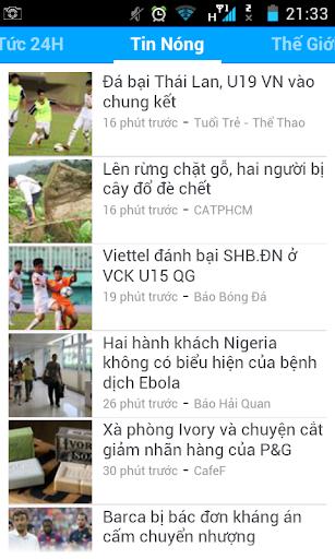 Tin Tuc 24h - Doc Bao Tong Hop
