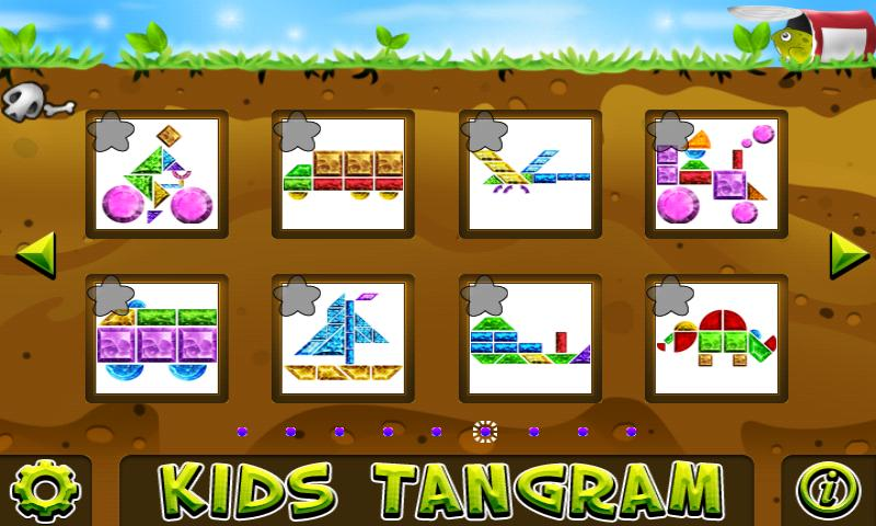 Kids Tangram - screenshot