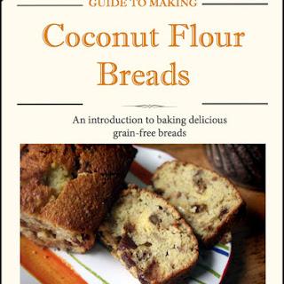 Homemade Organic Coconut Flour Bread.