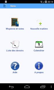 Agenda scolaire - screenshot thumbnail