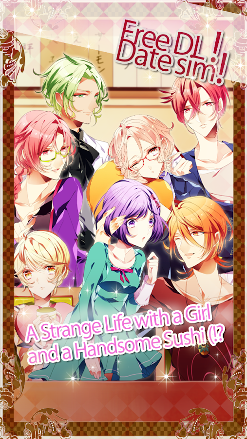 Love! Sushi Rangers -datingsim - screenshot
