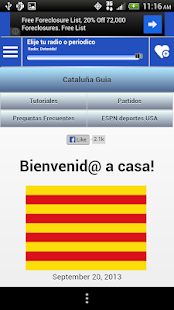 Catalonia Guide News and Radio - screenshot thumbnail