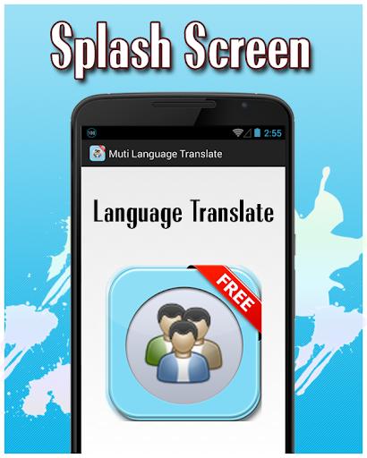 Multi Language Translate