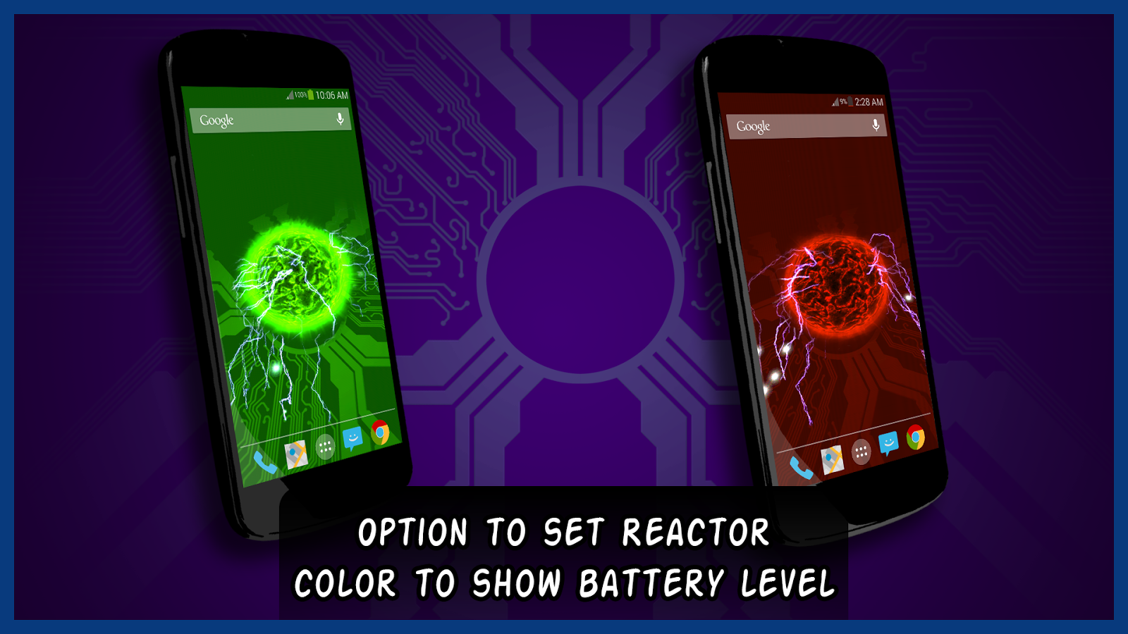 Reactor Live Wallpaper- screenshot