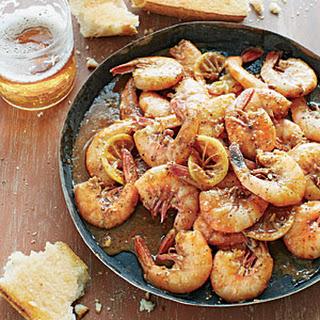 Barbecued Shrimp.