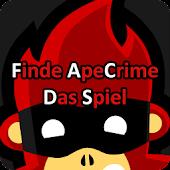 Finde ApeCrime (Das Spiel)