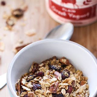 Oat and Amaranth Granola.
