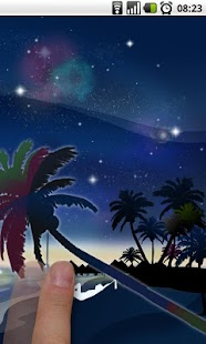 Galaxy Beach Live Wallpaper - screenshot thumbnail