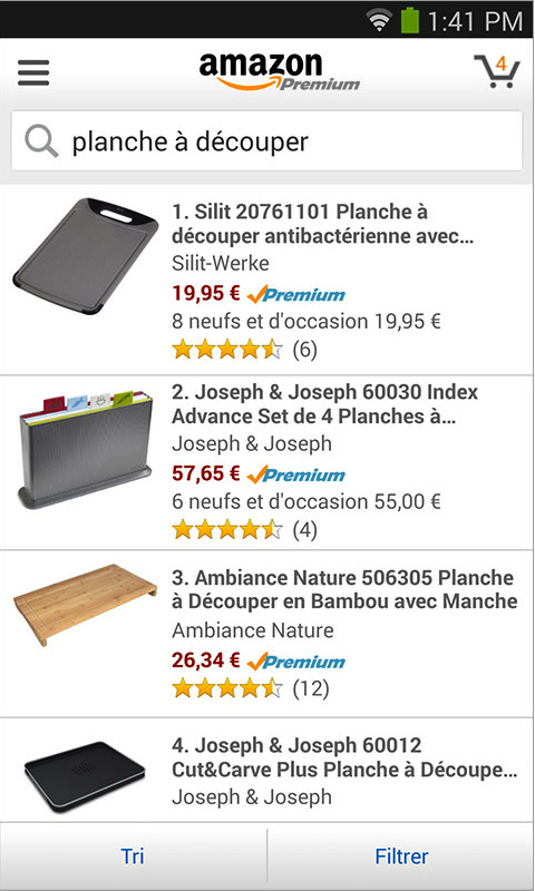 Amazon FR - screenshot