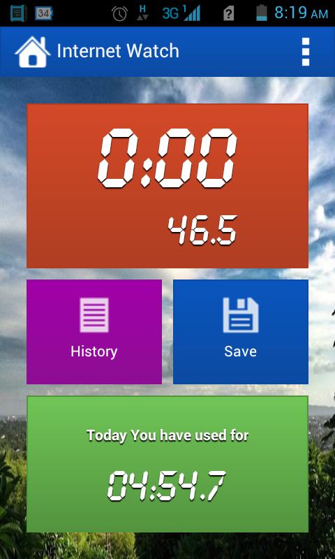 Internet Watch - screenshot