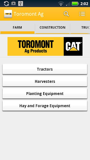 Toromont Ag Products