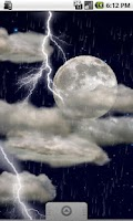 Screenshot of The real thunderstorm - LWP