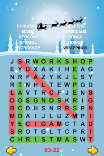 Christmas Word Search Puzzles- screenshot thumbnail