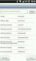 Screenshot of Scheepvaarttelefoongids