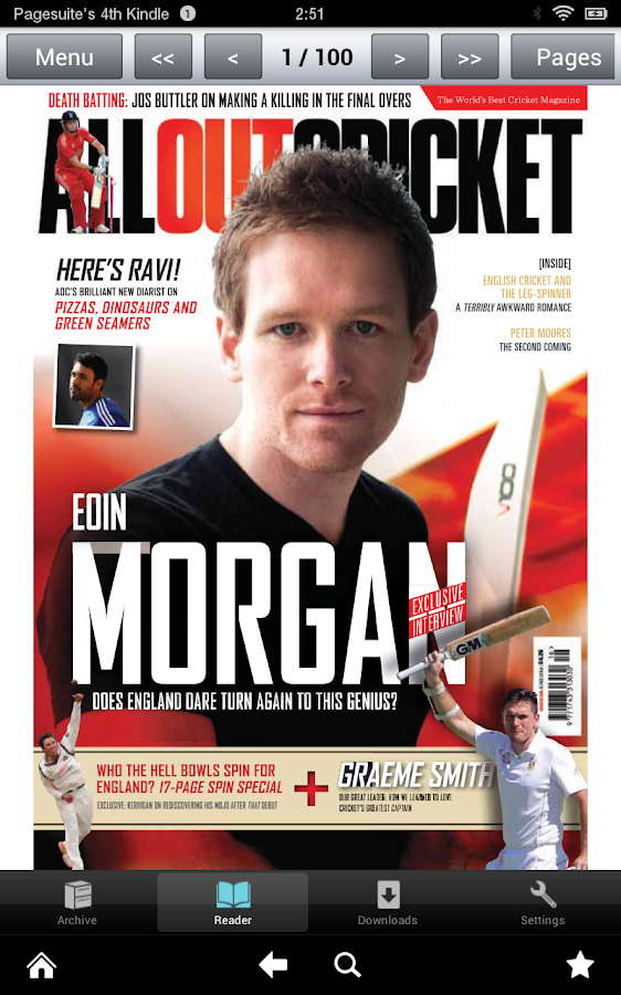 All Out Cricket Magazine- screenshot