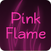 Pink Flame Keyboard