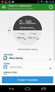TSheets Time Tracker - screenshot thumbnail