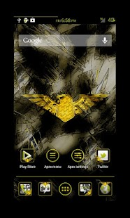 Liberty Yellow Apex Theme- screenshot thumbnail