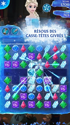 android La Reine des Neiges Free Fall Screenshot 16