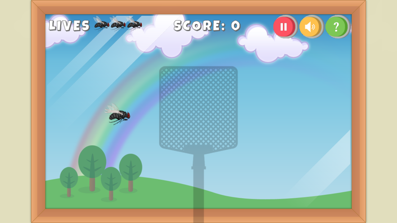 Swat the Fly- screenshot