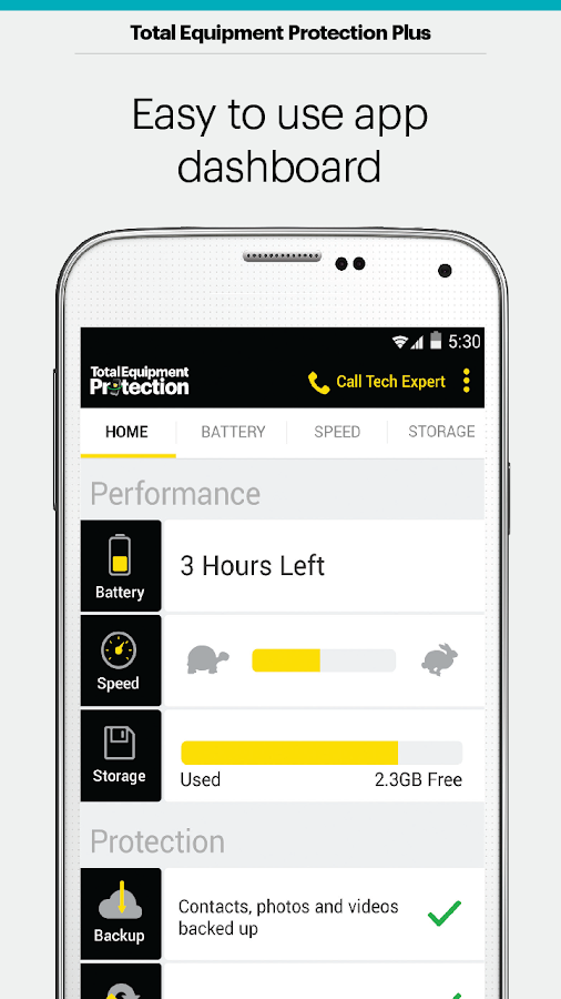 Sprint Protect - screenshot
