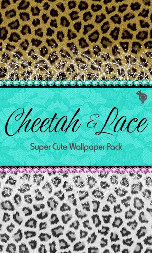 Cheetah Lace Wallpaper Pack