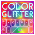 Keyboard Color Glitter Theme icon