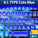 A.I. Type Cute Blue א icon