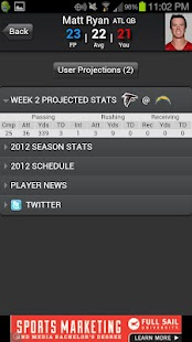Fantasy Football Predictor '14 - screenshot thumbnail