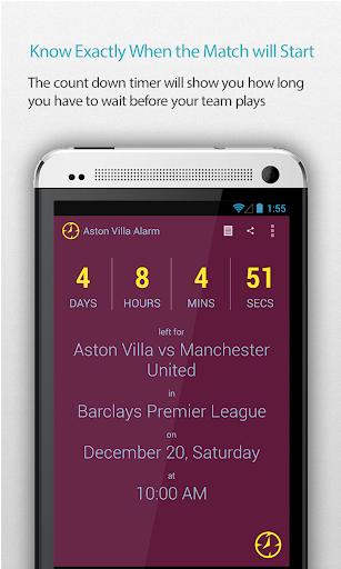 Aston Villa Alarm