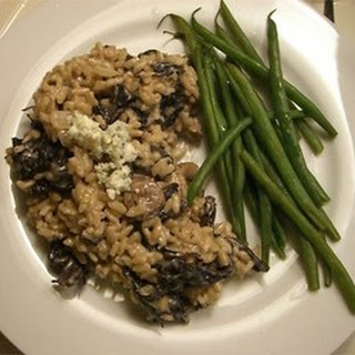 Gorgonzola and Wild Mushroom Risotto