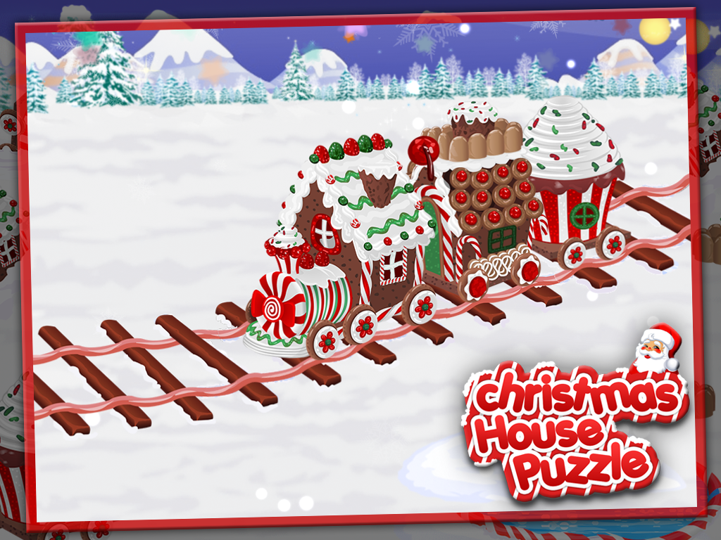 Christmas House Puzzle- screenshot