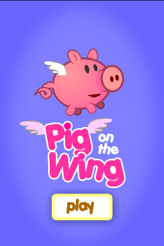 Pig on the wing