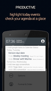 Calendar Status- screenshot thumbnail