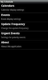 My Schedule Screenshot 3