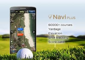 Screenshot of Golf NAVI