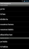 Screenshot of Unabridged Spanish Dictionary