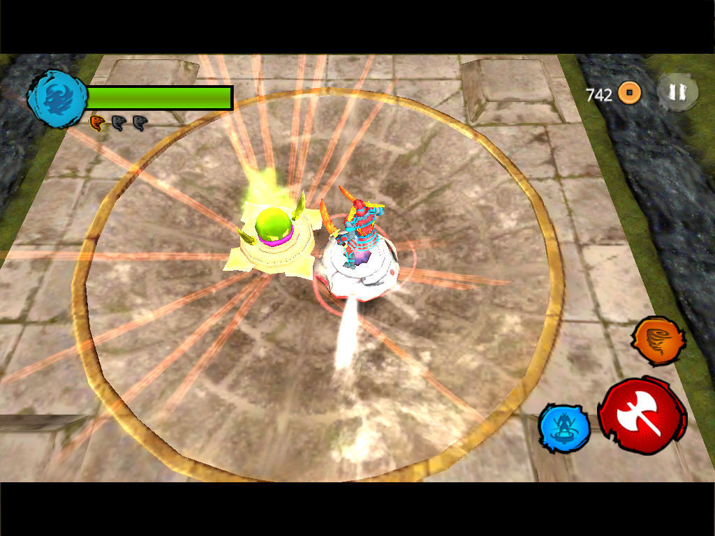 Beyblade BeyWarriors - screenshot
