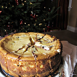 Bailey's Chocolate-Chip Cheesecake.