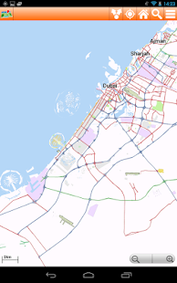 Dubai Offline mappa Map - screenshot thumbnail