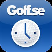 Golf Starttid