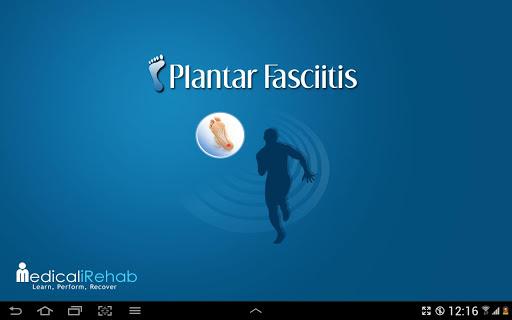 Plantar Fasciitis Tablet App