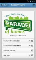 Screenshot of SIBA Parade of Homes