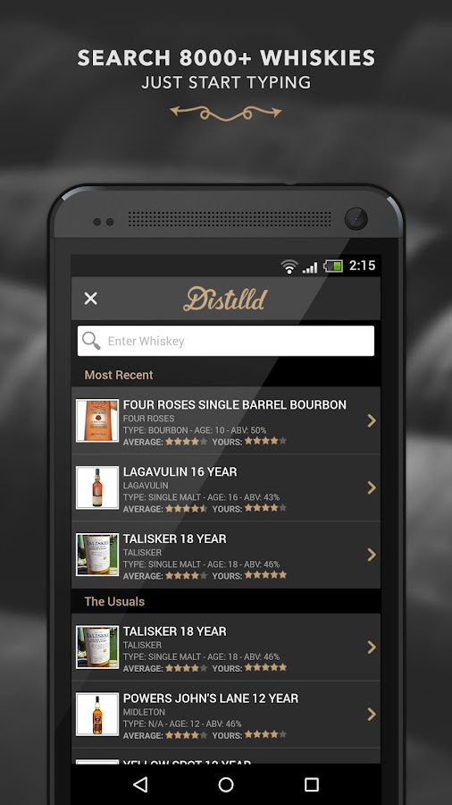 Distilld Whiskey Community- screenshot
