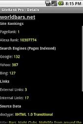 SEO - SiteRank Pro