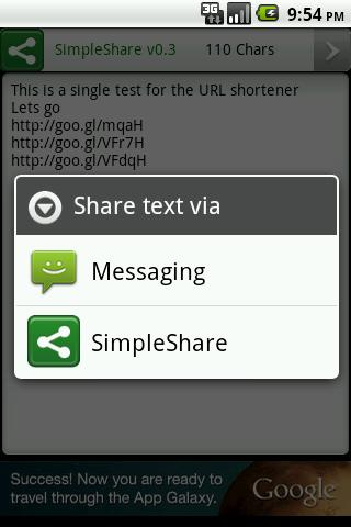 SimpleShare- screenshot